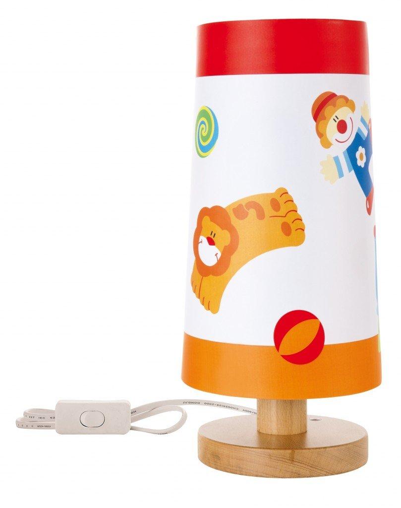 id e de cadeau de naissance n 30 lampe de chevet pour enfant cirque guide des cadeaux de. Black Bedroom Furniture Sets. Home Design Ideas